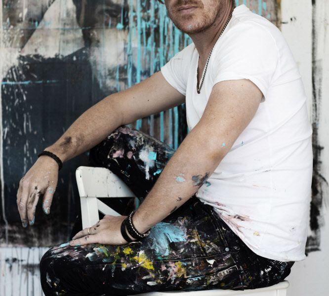 """Parov Stelar als Maler: """"Die Muse küsst mich jeden Tag"""""""