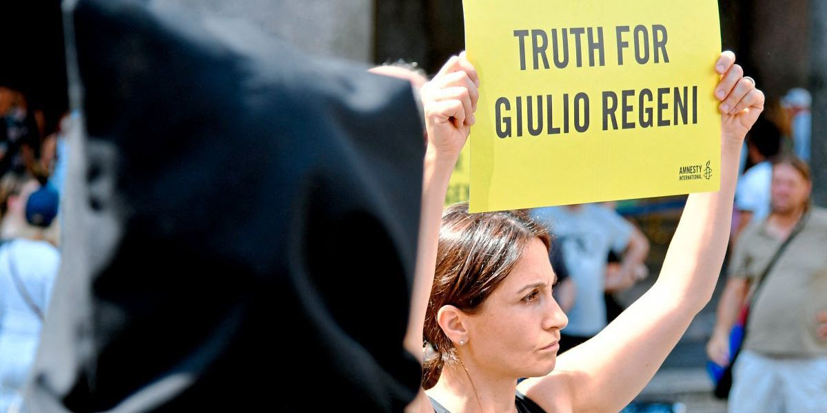 Prozess gegen vier Ägypter nach Mord an Student Giulio Regeni in Rom eingestellt