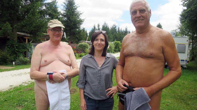 Familie nackt fkk nacktbaer