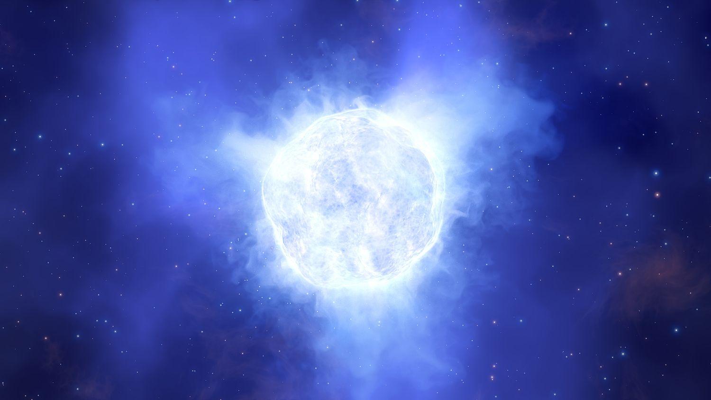 Forscher rätseln: Blauer Riesenstern verschwindet einfach