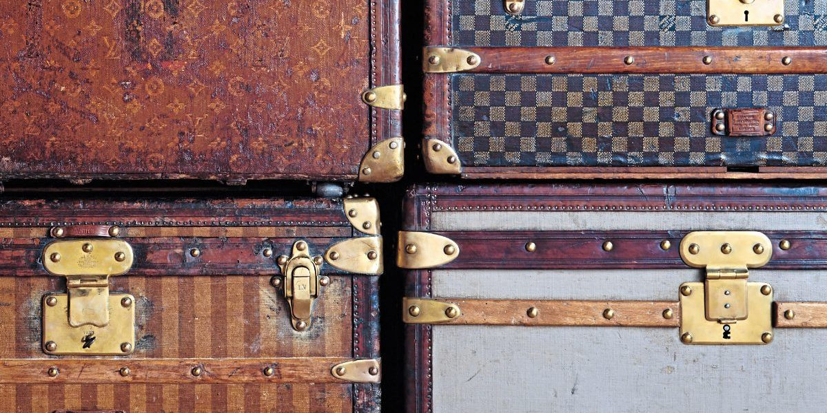 Reisegepäck und Luxussymbole: 200. Geburtstag von Louis Vuitton