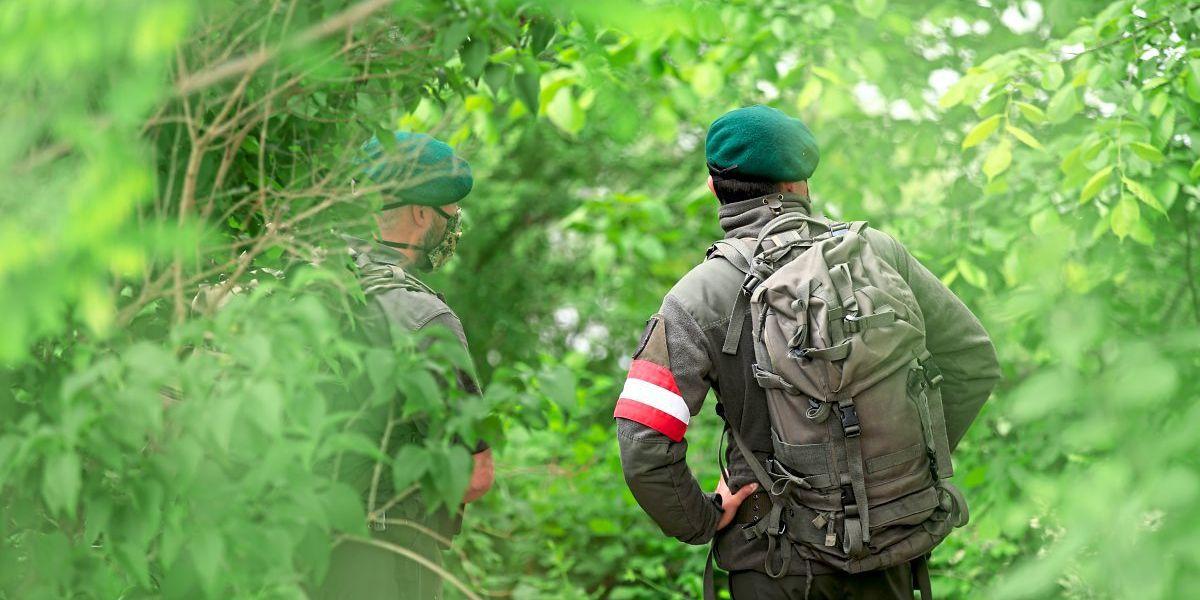 Bundesregierung schickt 400 zusätzliche Soldaten an die Grenze