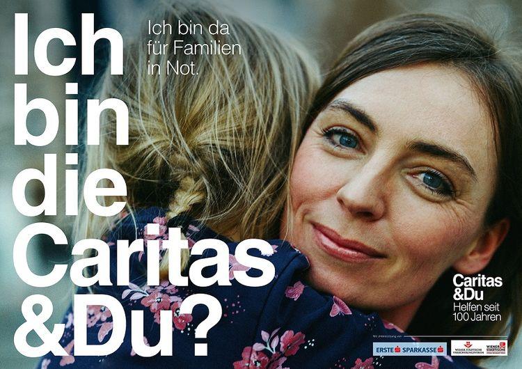 """""""bin ich die caritas"""" jubiläumskampagne von jung von"""