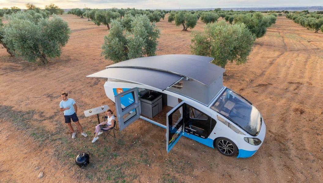 Stella Vita: Solarbetriebener Campingwagen fuhr 2.000 Kilometer durch Europa