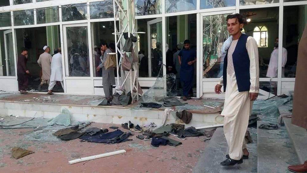 Afghanistan: IS-Ableger reklamiert Anschlag auf Moschee für sich