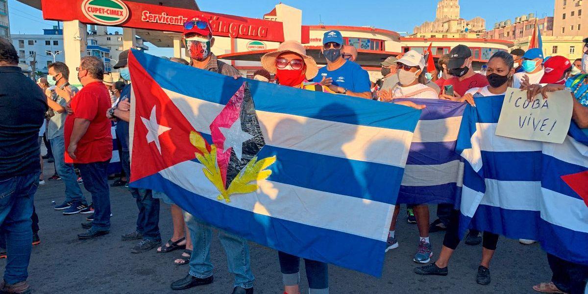 Menschenrechtler kritisieren Haftstrafen für Demonstranten in Kuba