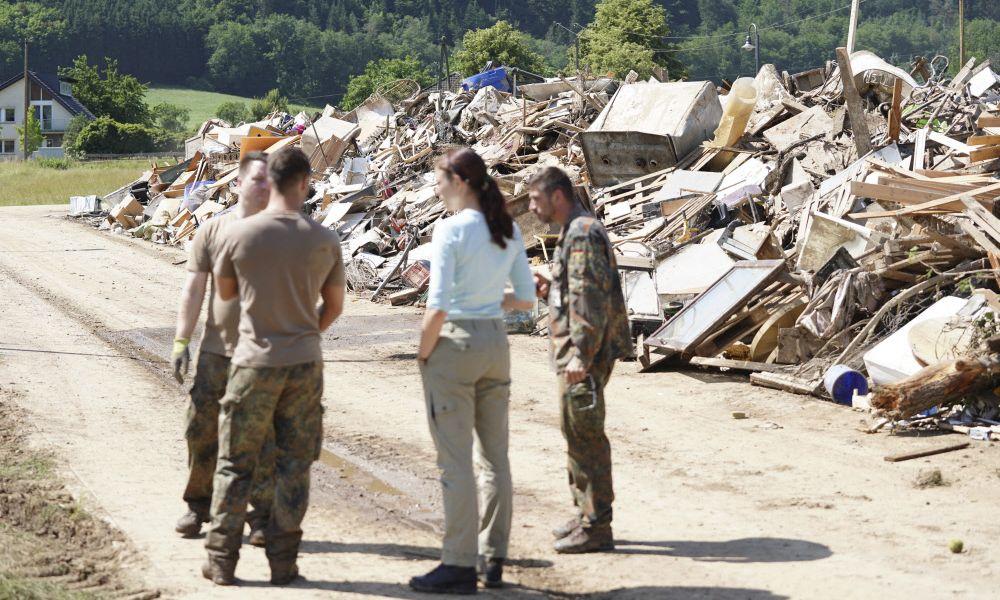 Debatte um mögliche Versäumnisse im deutschen Katastrophenschutz