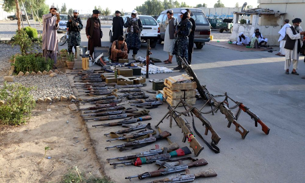Taliban stellten Leichen von mutmaßlichen Entführern zur Schau