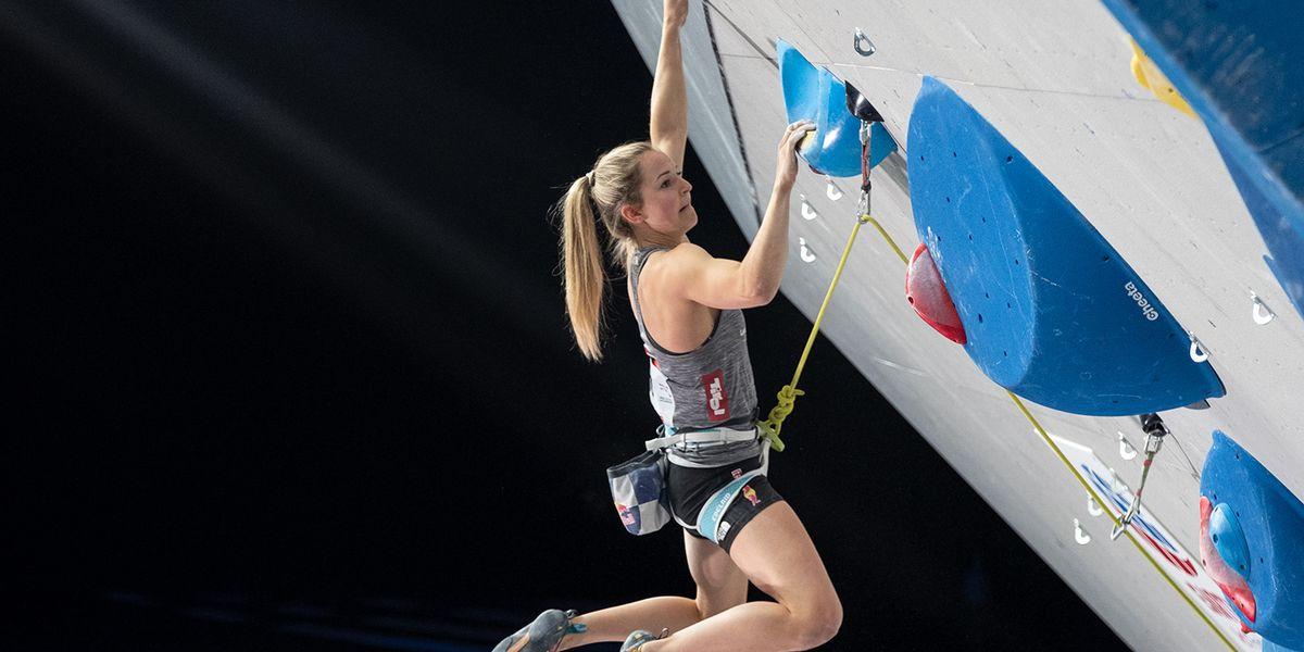 Klettern: Jessica Pilz gewann WM-Gold in der Kombination