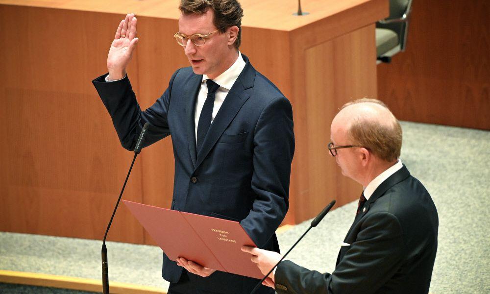 Hendrik Wüst zum Ministerpräsidenten von Nordrhein-Westfalen gewählt