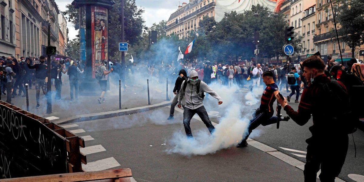 Tausende demonstrieren gegen Corona-Maßnahmen in Frankreich