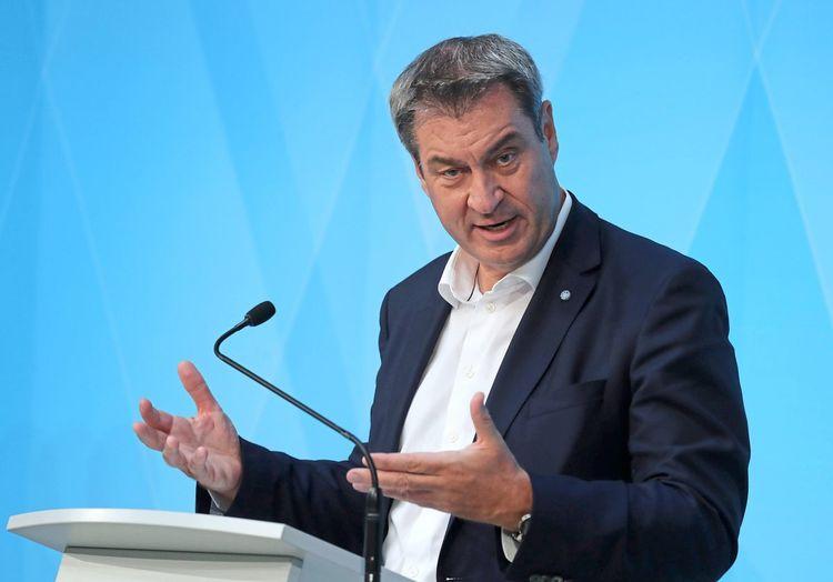 Soder Warnt Vor Dramatischem Umfragetrend Der Union Unter Laschet Politik Derstandard De Deutschland