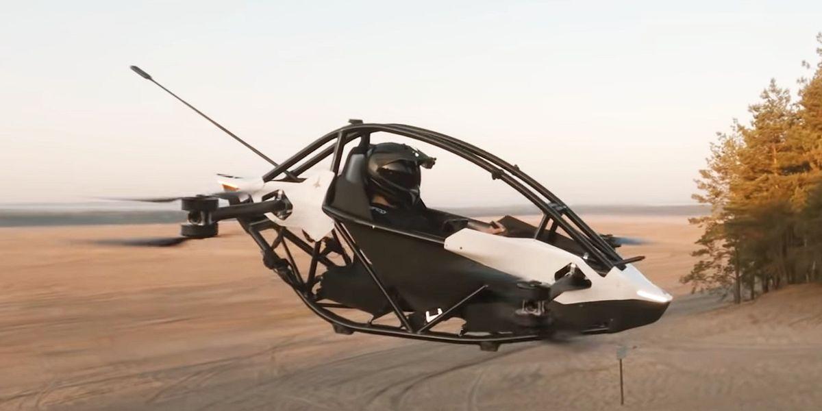 Jetson One: Einsitziger Multikopter aus Europa geht für 80.000 Euro an den Start
