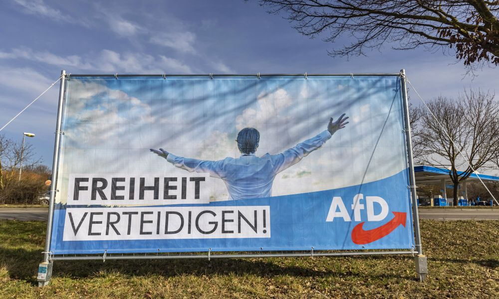 AfD fiel auf fingierten Verteilerservice rein und verlor fünf Millionen Flyer
