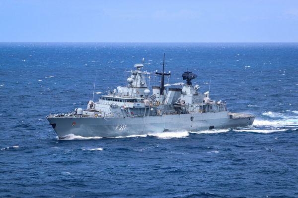 Foto: Offizieller Account der Deutschen Marine fürs Indo-Pacific Deployment 2021
